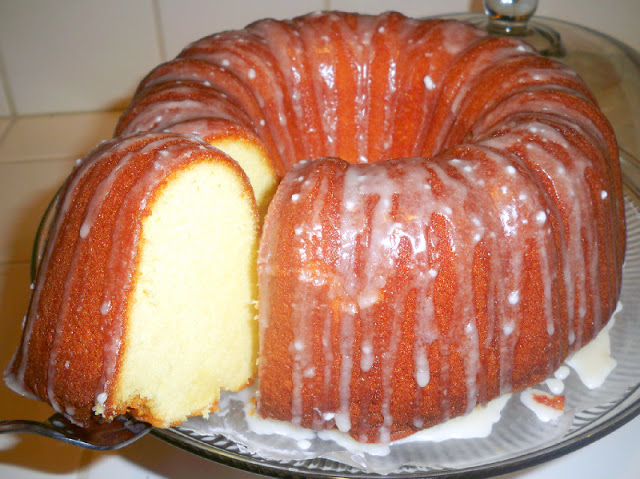 Half Pound Cake Recipe