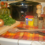 Savory Slow Cooker Stuffing