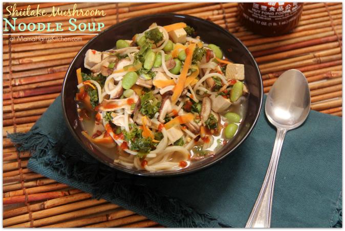 Shiitake Mushroom Noodle Soup PLUS the Final Week of the # ...
