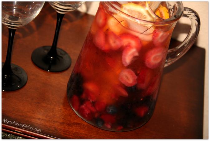 Moscato Berry Sangria