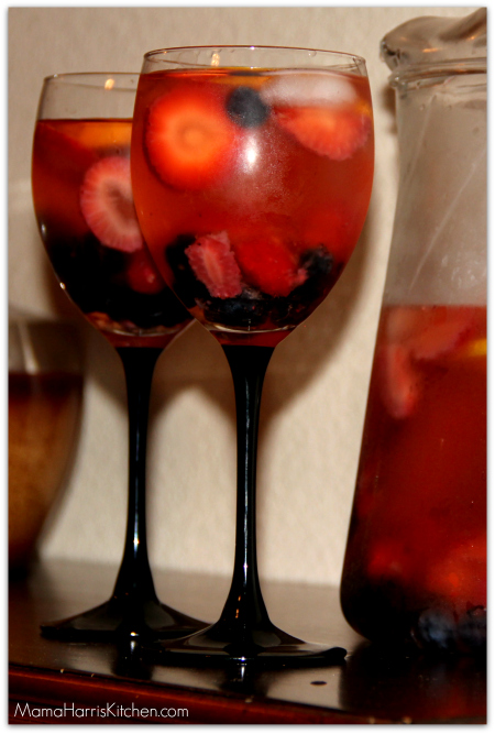 Say Cheers with Moscato Berry Sangria!