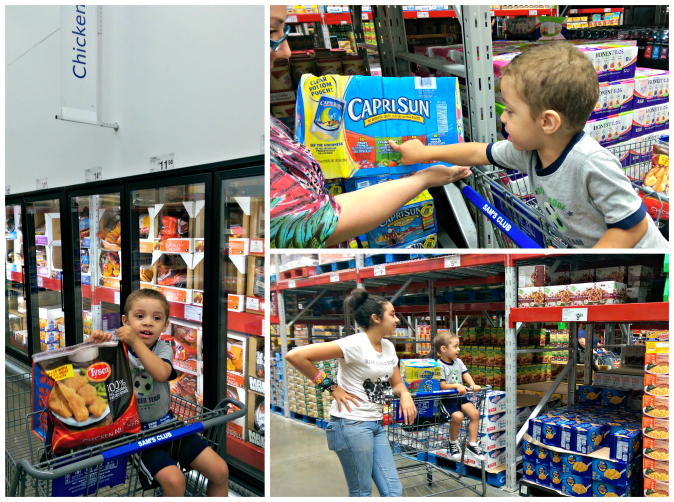Sams Club Hunger  Heroes Shopping
