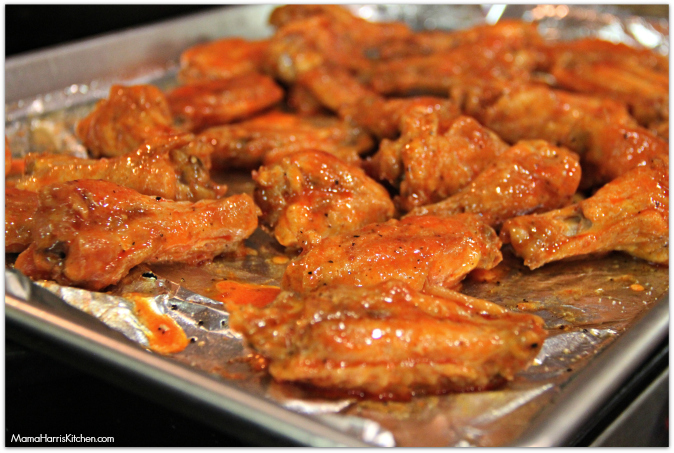 Crispy Baked Buffalo Wings Chickswingit