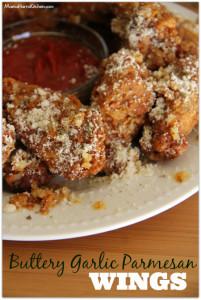Buttery Garlic Parmesan Wings - Mama Harris' Kitchen
