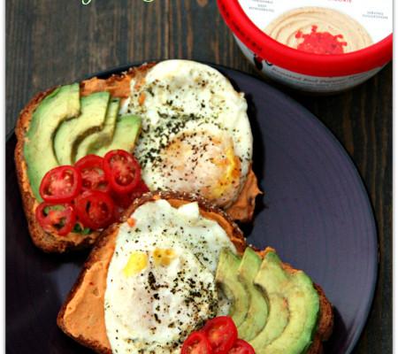 Skinnygirl Hummus Breakfast Toast #NowThisIsSkinnyDipping #Sponsored - Mama Harris' Kitchen