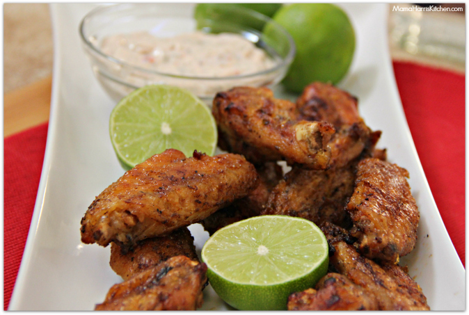 tequila lime baked chicken wings #ChicksWingIt #WingItWednesday - Mama ...