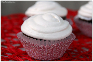 Chocolate Cupcakes with Marshmallow Cream Frosting #BigHero6 #shop #cbias - Mama Harris' Kitchen