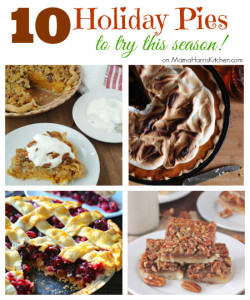 seasonal holiday pies - Mama Harris' Kitchen