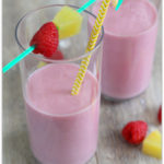 Raspberry Pineapple Banana Smoothie