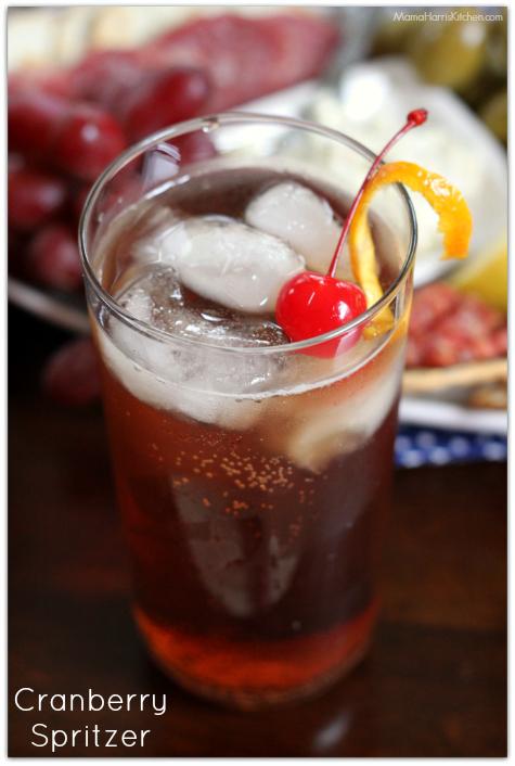 Cranberry Spritzer Ingredients: