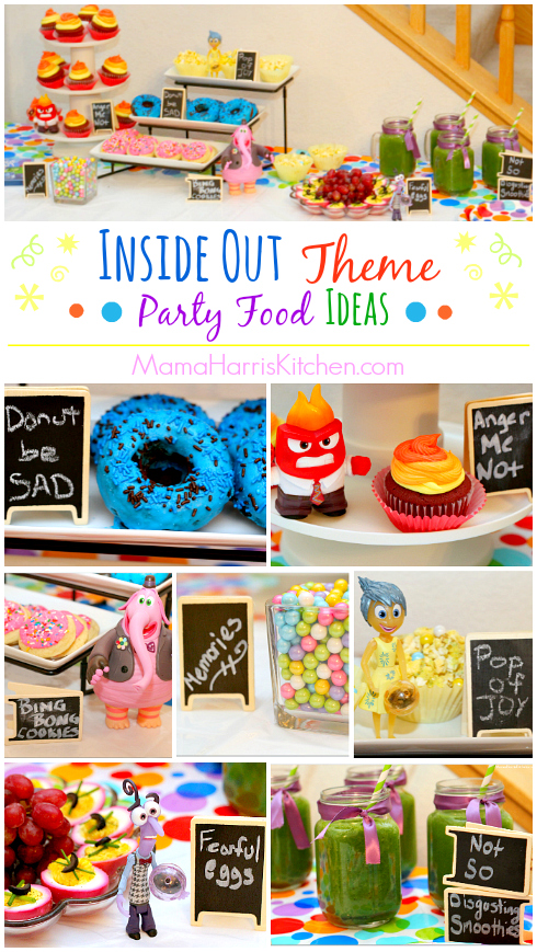 inside out theme party food ideas recipes