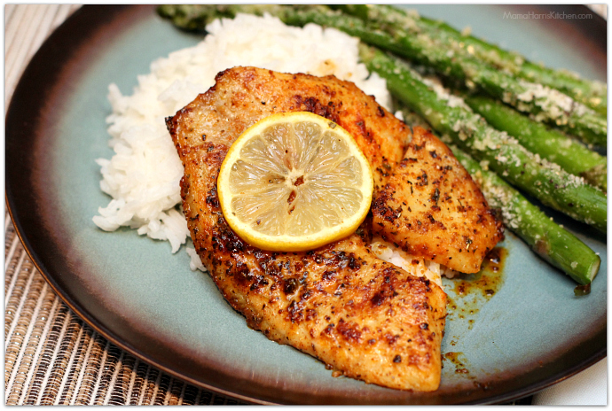 Quick Pan Fried Tilapia Mama Harris Kitchen