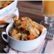 Chicken Sausage and Pumpkin Pasta Bake